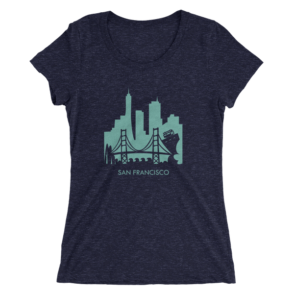 San Francisco - women's premium triblend T-shirt