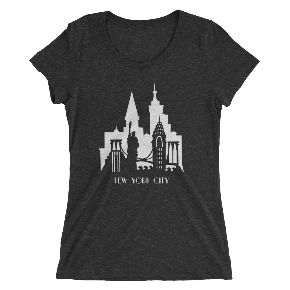New York City - women's premium triblend T-shirt