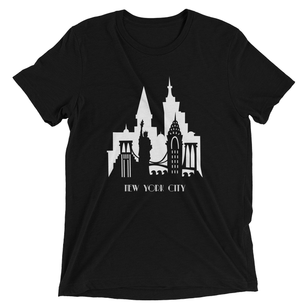 New York City - men's premium triblend T-shirt