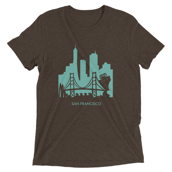San Francisco - men's premium triblend T-shirt