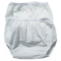 Dappi Waterproof 100-Percent Nylon Diaper Pants, 2 Pack, (White) by Ocean Junction - Ocean Junction
