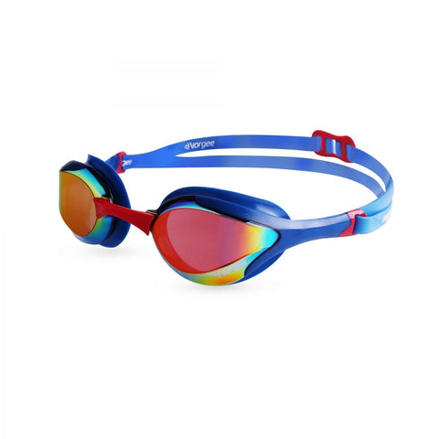 Vorgee Stealth MkII- Mirrored Lens Swim Goggle - Team Choice
