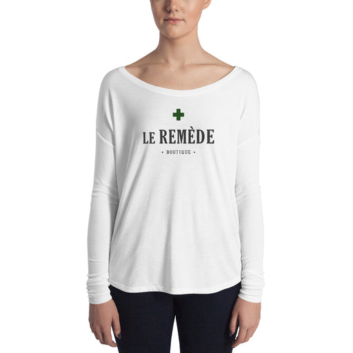 Le Remède Ladies' Long Sleeve T-Shirt • by TULIP BRAND -  - TULIP BRAND