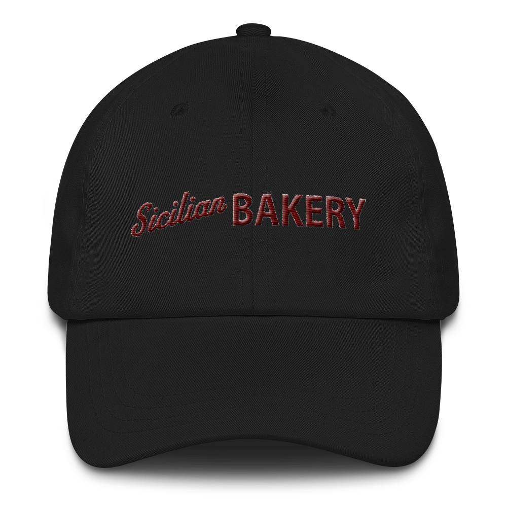 Sicilian Bakery Dad Hat • by TULIP BRAND - Hat - TULIP BRAND