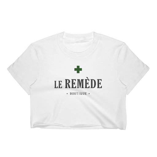 Le Remède Women's Crop Top • by TULIP BRAND - Crop Top - TULIP BRAND