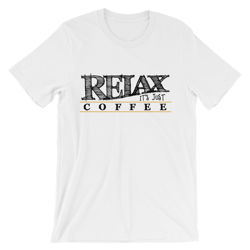 Relax It's Just Coffee Men's Tee -  - TULIP BRAND
