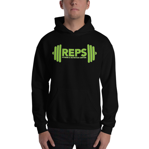 REPS Fitness Unisex Hooded Sweatshirt • by TULIP BRAND -  - TULIP BRAND