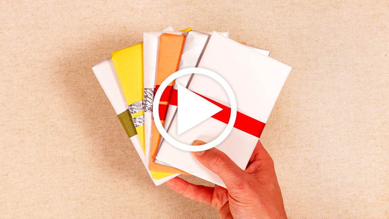 Gift Wrap Your Dapper Notes with Printer Paper