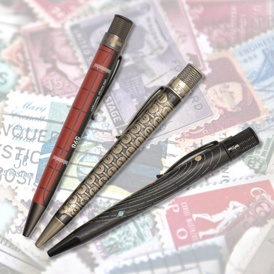 Limited Retro 51 pens - USS George Washington Submarine, Pen Chalet Vintage Typewriter, Dudek System