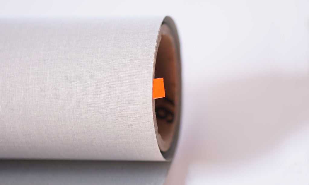 book cloth roll gray