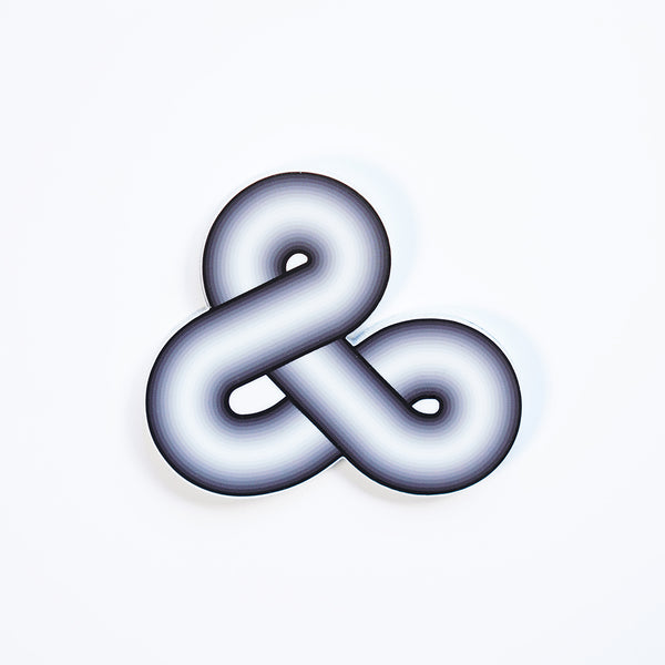 Infinity ampersand sticker by Enon Avital
