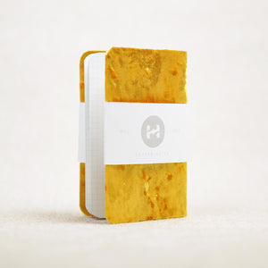 soft golden pocket notebook cover