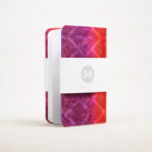 tie dye pocket notebook cover