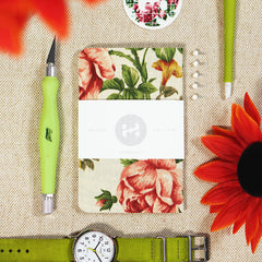floral pocket notebook pattern