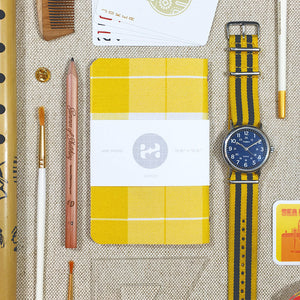 yellow and white dapper notes