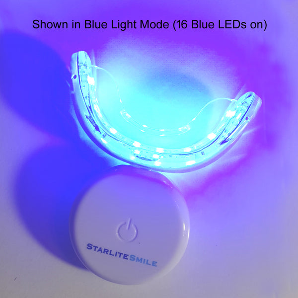 32 LED Oral Care Gum Disease Treatment Red and Blue LED Dental Light **FREE SHIPPING