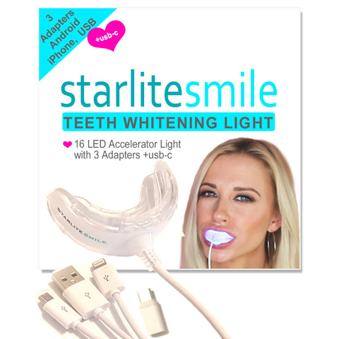 16 LED Whitening Accelerator Light -- Whiter Teeth in 10 Minutes Per Day! **FREE SHIPPING