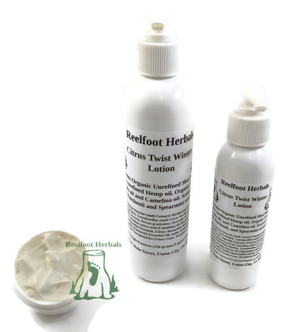 Citrus Twist Winter Lotion - Reelfoot Herbals