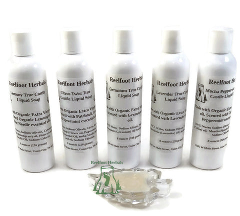 True Castile Liquid Soap - Reelfoot Herbals
