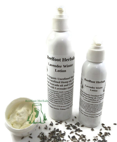 Lavender Winter Lotion - Reelfoot Herbals