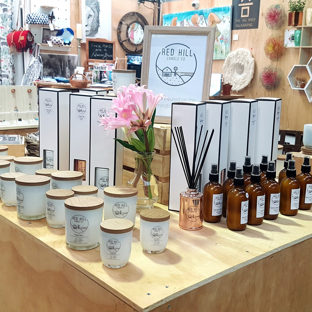 Red Hill Candle Co is In Store