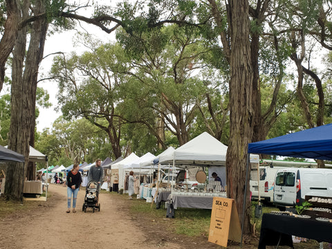 Red Hill Candle Co at Emu Plains Market