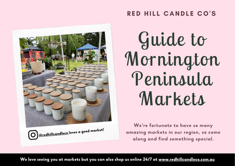 Market Guide Mornington Peninsula by Red Hill Candle Co