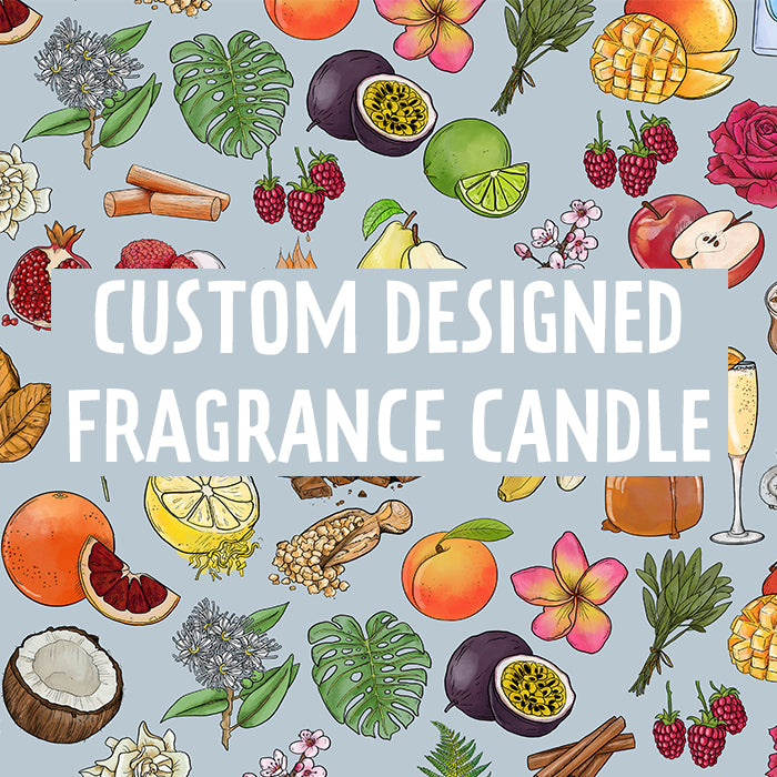 Custom Designed Fragrance Candle Large