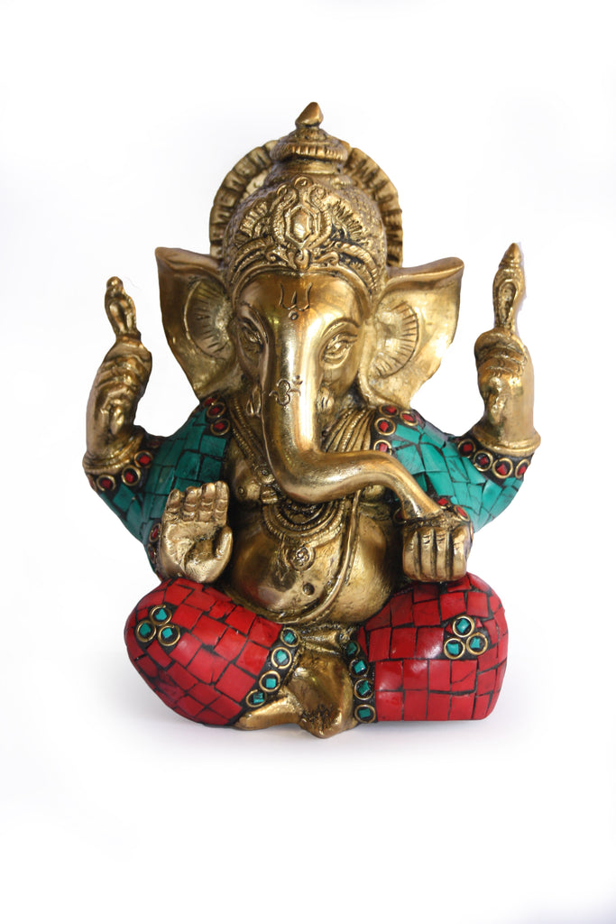 Ganesh Sitting Without Base