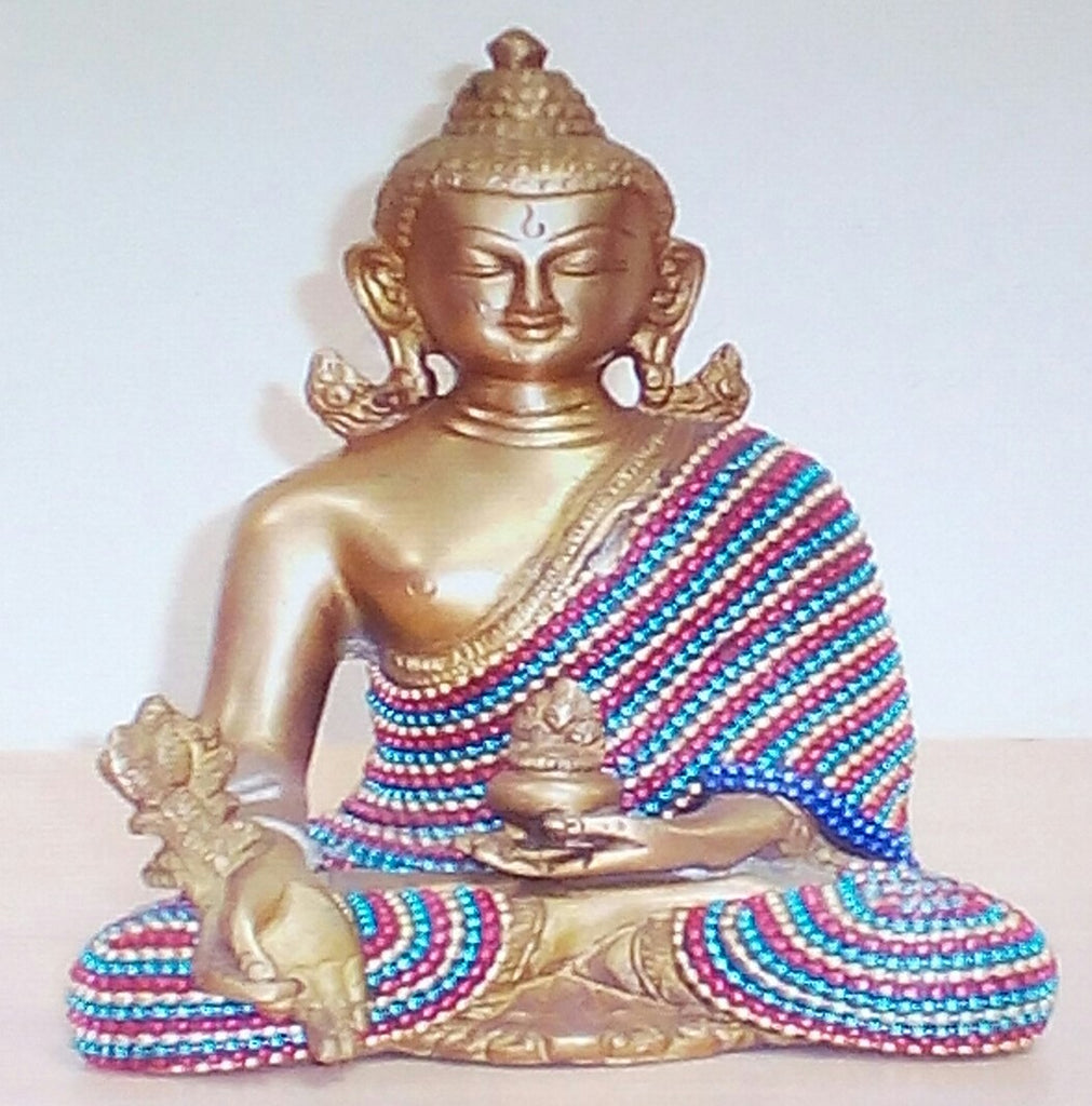 Buddha Sitting Medicine Without Base