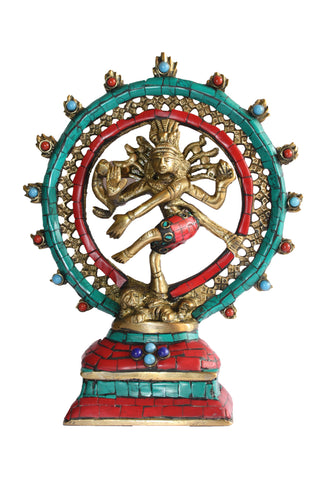 Nataraja Dancing Double Ring
