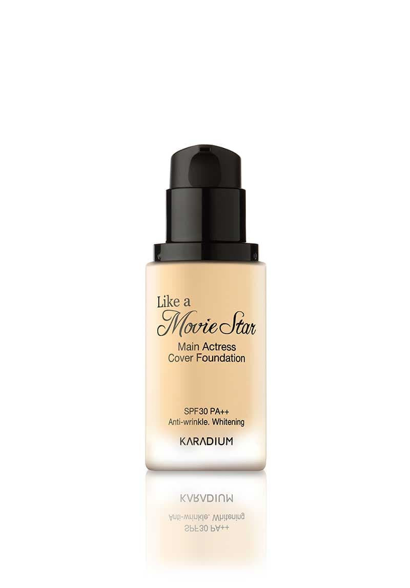 Karadium - Like A Movie Star Main Actress Cover Foundation #23 Natural Beige