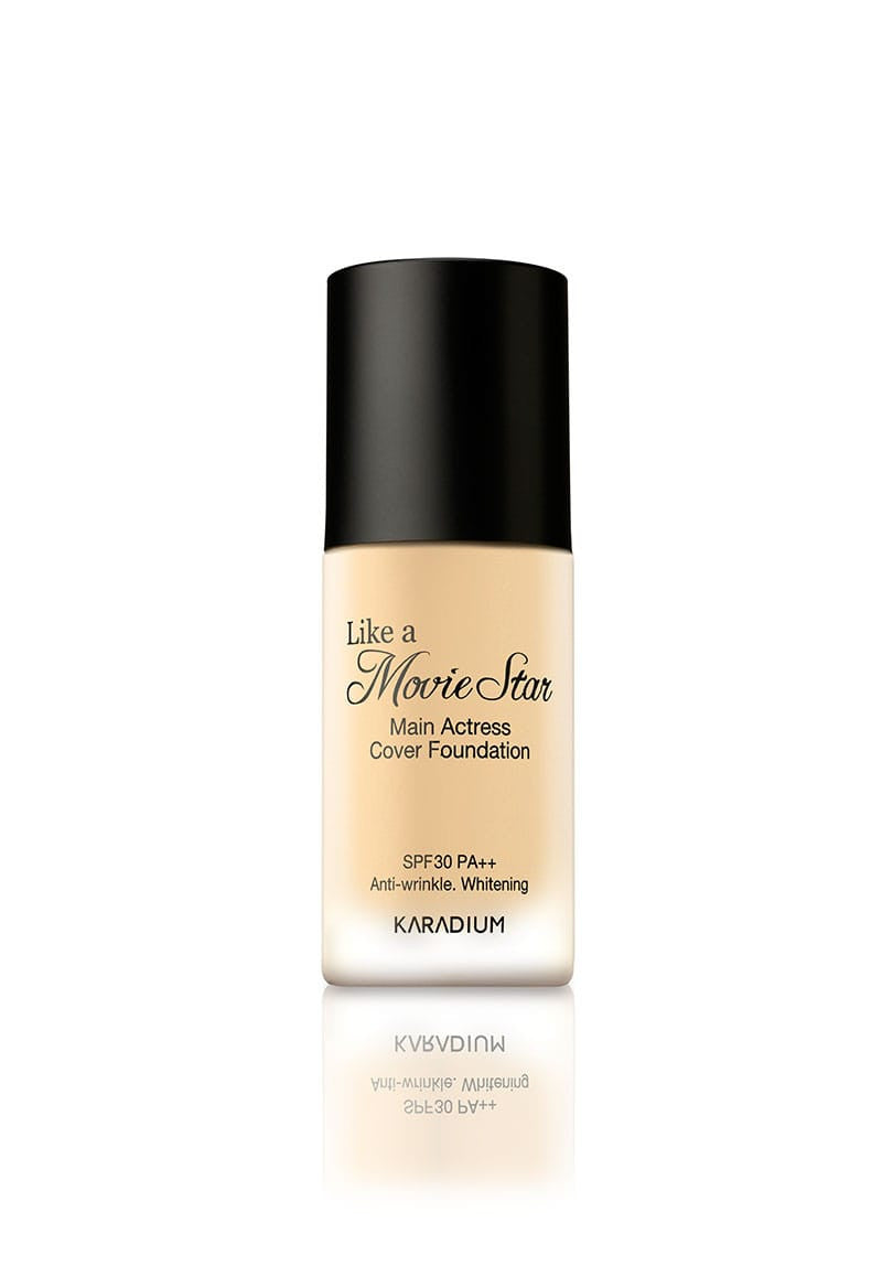 Karadium - Like A Movie Star Main Actress Cover Foundation #21 Light Beige