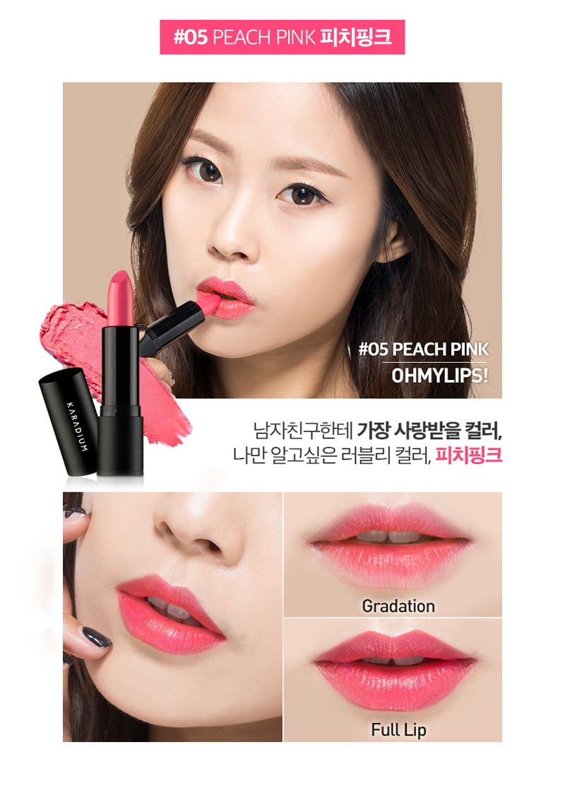 Karadium - Oh My Lips #05 Peach Pink