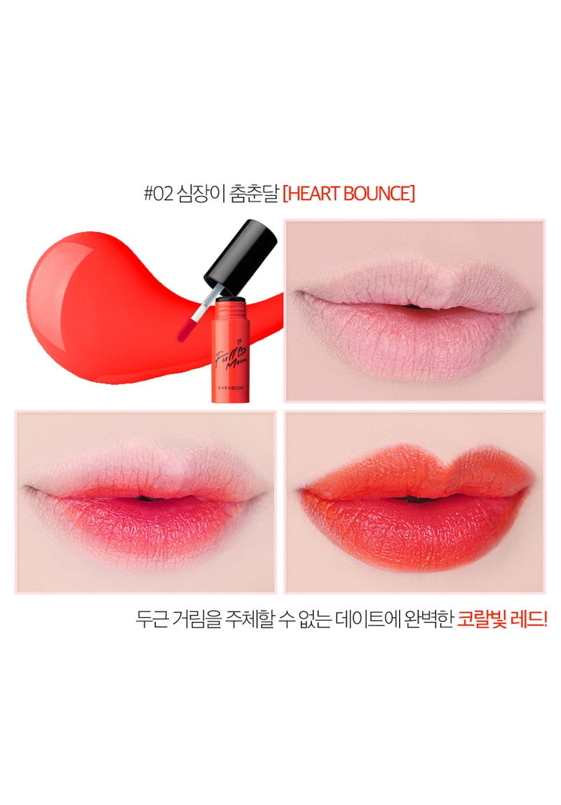 Karadium - Full Moon Tattoo Lip Tint #02 Heart Bounce