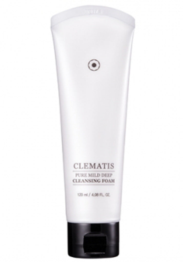 Clematis - Pure Mild Deep Cleansing Foam