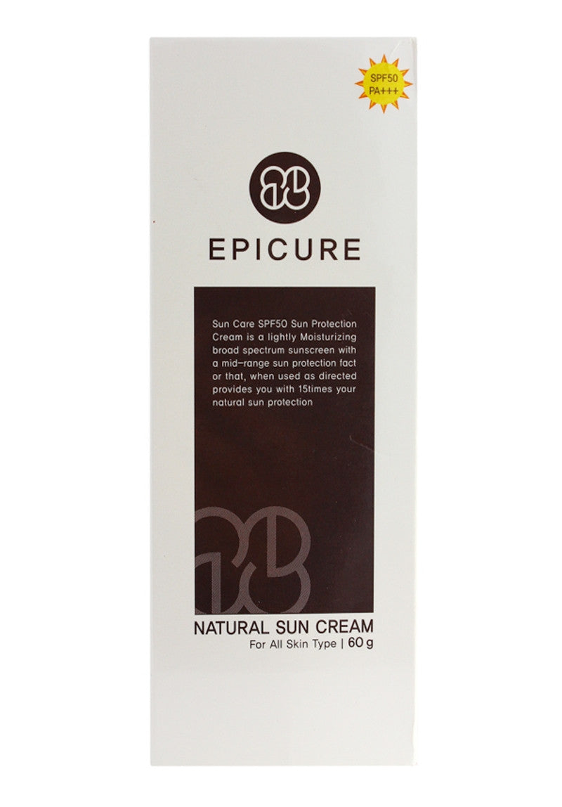 Epicure - Natural Sun Cream