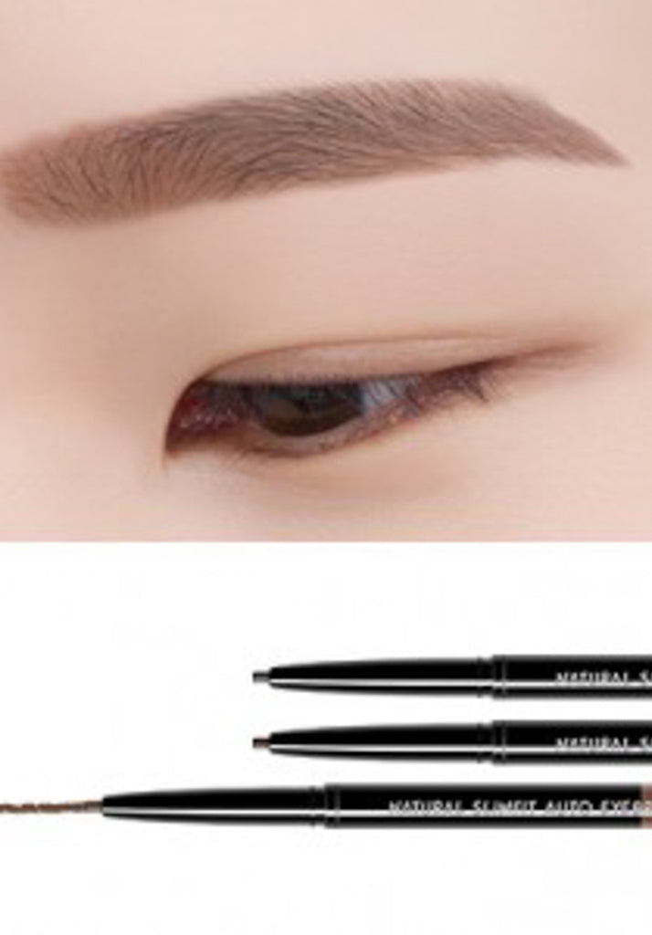 Eglips - Natural Slimfit Auto Eyebrow #Light Brown