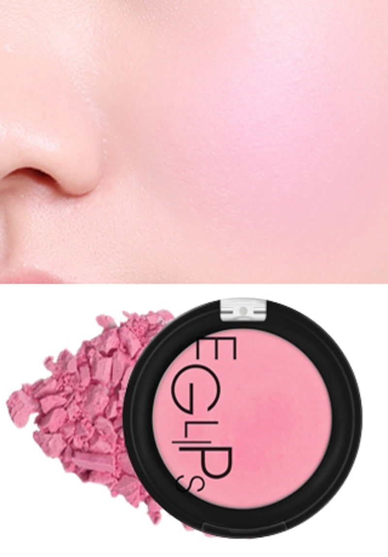 Eglips - Apple Fit Blusher 02 Sexy Rose