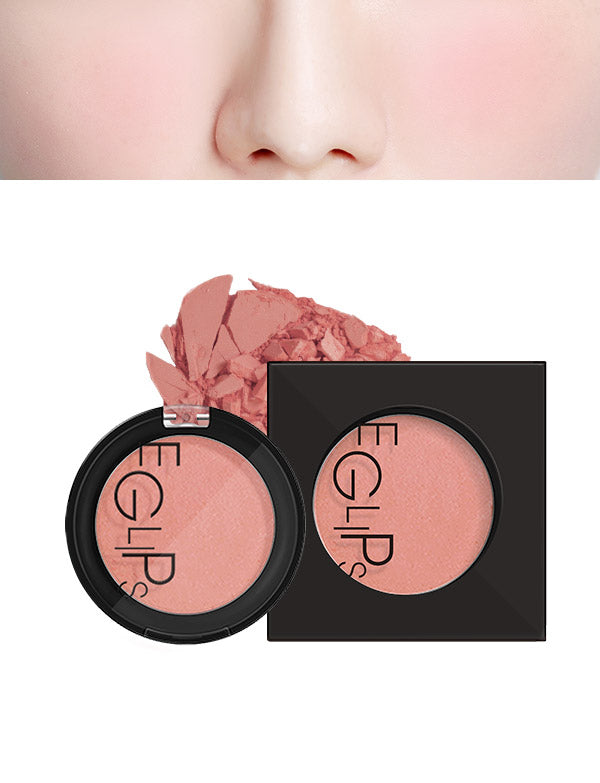 Eglips - Apple Fit Blusher 08 Sand Pink (New)