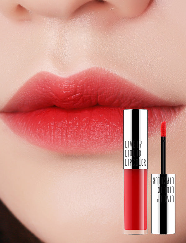 Eglips - Lively Liquid LipColor 02 Camellia