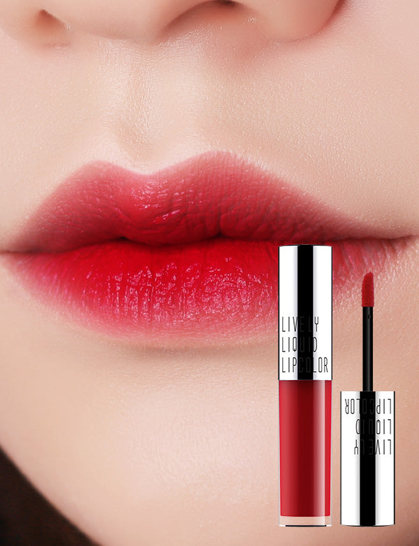 Eglips - Lively Liquid LipColor 05 Cherry Red