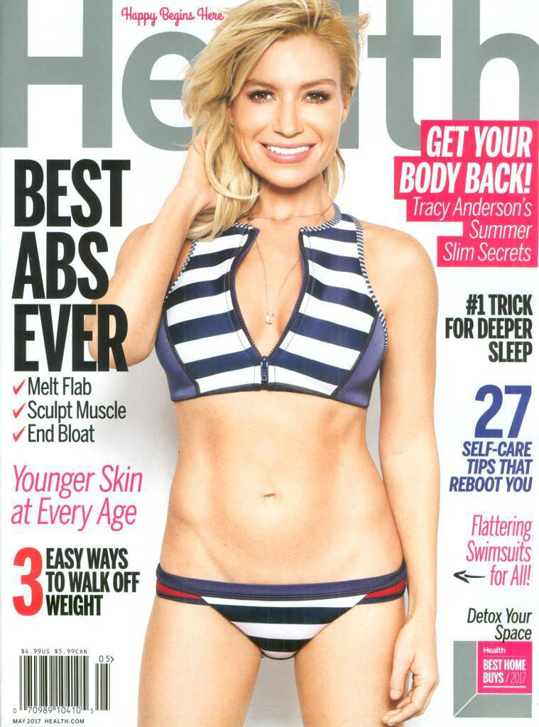 Health Magazine Cover featuring Tracy Anderson wearing Bianca Pratt Escapularia Necklace