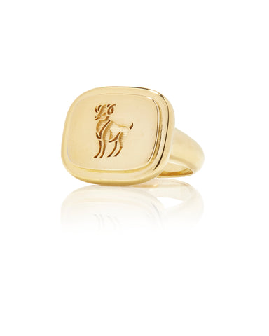 Aries Zodiac Ring - Bianca Pratt Jewelry