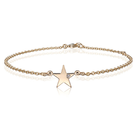 Diamond Star Bracelet - Bianca Pratt Jewelry