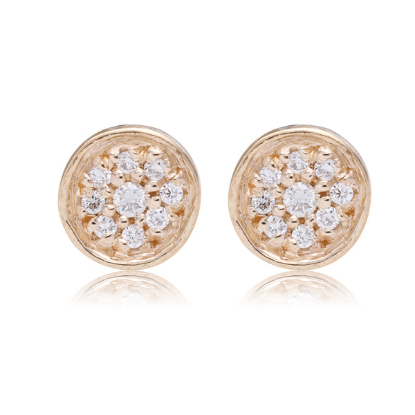 Full Moon Studs - Bianca Pratt Jewelry