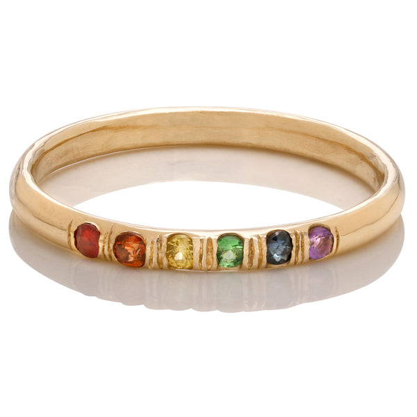 Rainbow Band - Bianca Pratt Jewelry