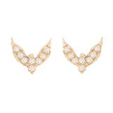 Diamond Bird Studs - Bianca Pratt Jewelry