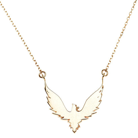 Large Bird Necklace - Bianca Pratt Jewelry