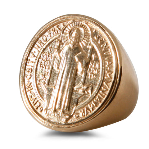 Brazilian Saint Signet Ring - Bianca Pratt Jewelry
